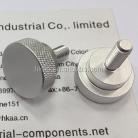 Oem Knurled Aluminum Furniture Knob Furniture