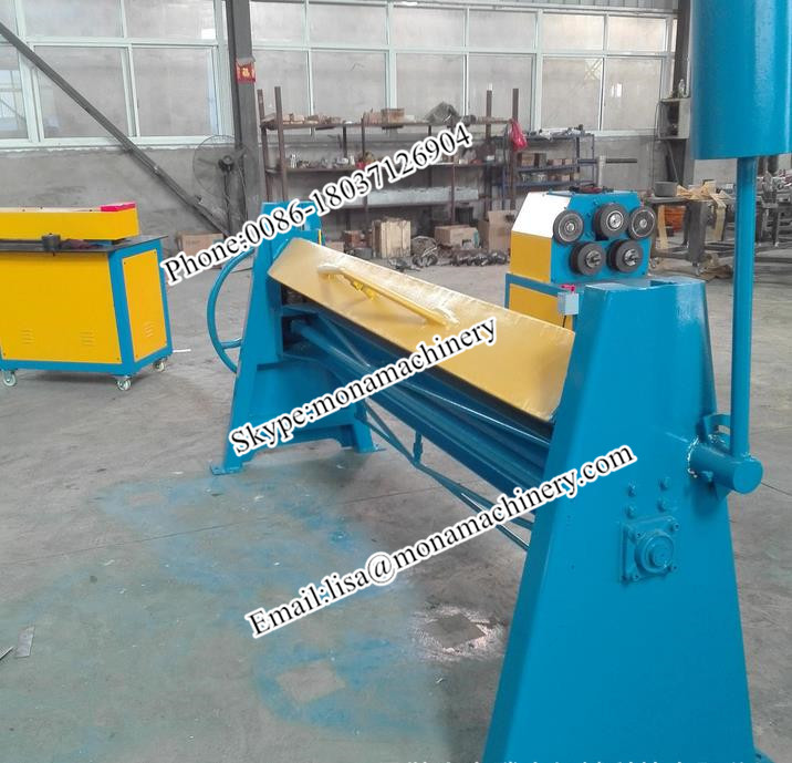 competitive price 2m metal plate flanging machine
