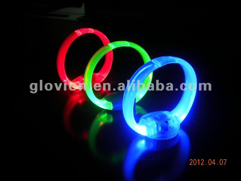 High Quality Led Charm bracelet Party Bracelet voice activate led bracelet sound control led bracelet