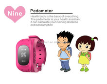 Cheap Q50 Kids Tracking GPS Tracker Watch sim bluetooth Children watches for android IOS smartphone