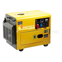 Factory Direct Offer soundproof 5kw 5kva silent diesel generator with OEM service