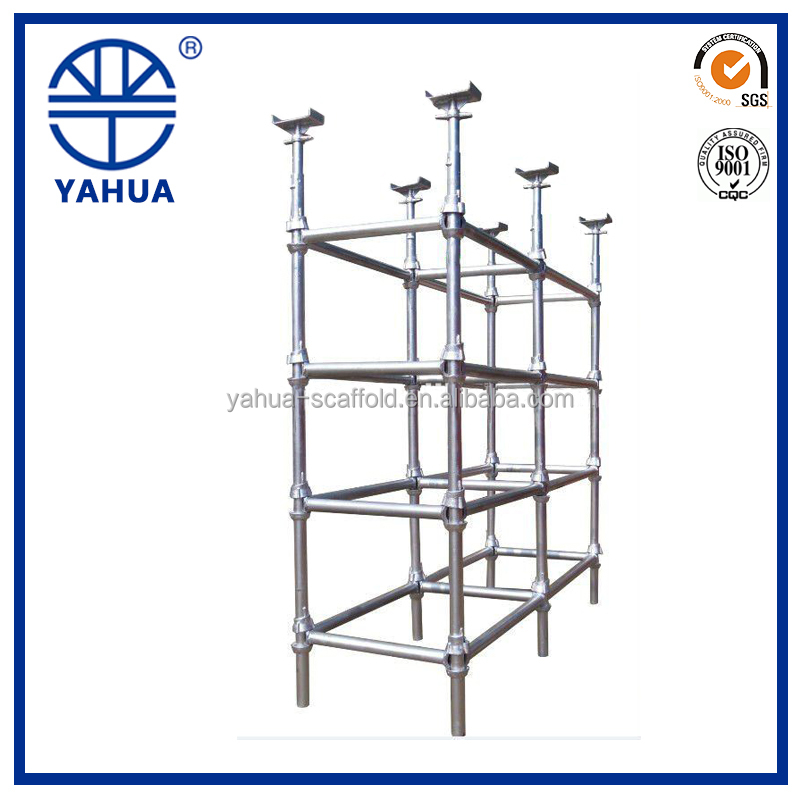 Construction used cuplock scaffolding for sale