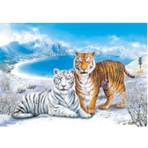 China Manufacture Hot Style 3d Animated Picture Of Tiger