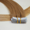 20inch Medium Golden Brown #10 Thick Ends Chinese Remy Hair Tape Ins