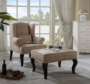 Fabric reclining chair with footrest (NC5163)