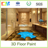 New product anti alkali excellent abrasion oil resistance resin liquid epoxy 3d floors coating