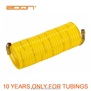 PA 6 / PA12 tube, 8mm * 6mm excellent weather spiral nylon hose tubing