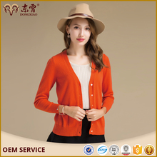 2017 fashionable girl cardigan short cashmere sweater