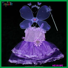 2015 Wholesale Butterfly Fairy Princess Children Wing Set