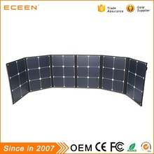 2017 Best price 120W sunpower foldable roof flexible solar panel