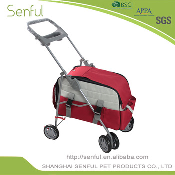 Senful Popular Luxury trolley pet carrier