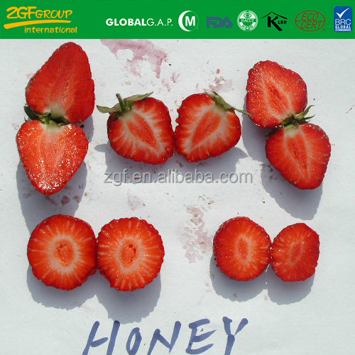 2018 Grade A New Season high quality sweet frozen strawberries