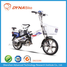 DYNABike Factory Price CE EEC Approved 16inch Tubed Tyre Chopper Electric Bike