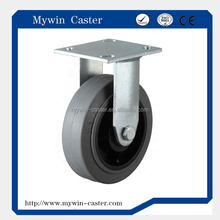 5 inch rigid high quality TPR conductive caster