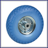 china supplier flat free solid pu foam wheel 350-7