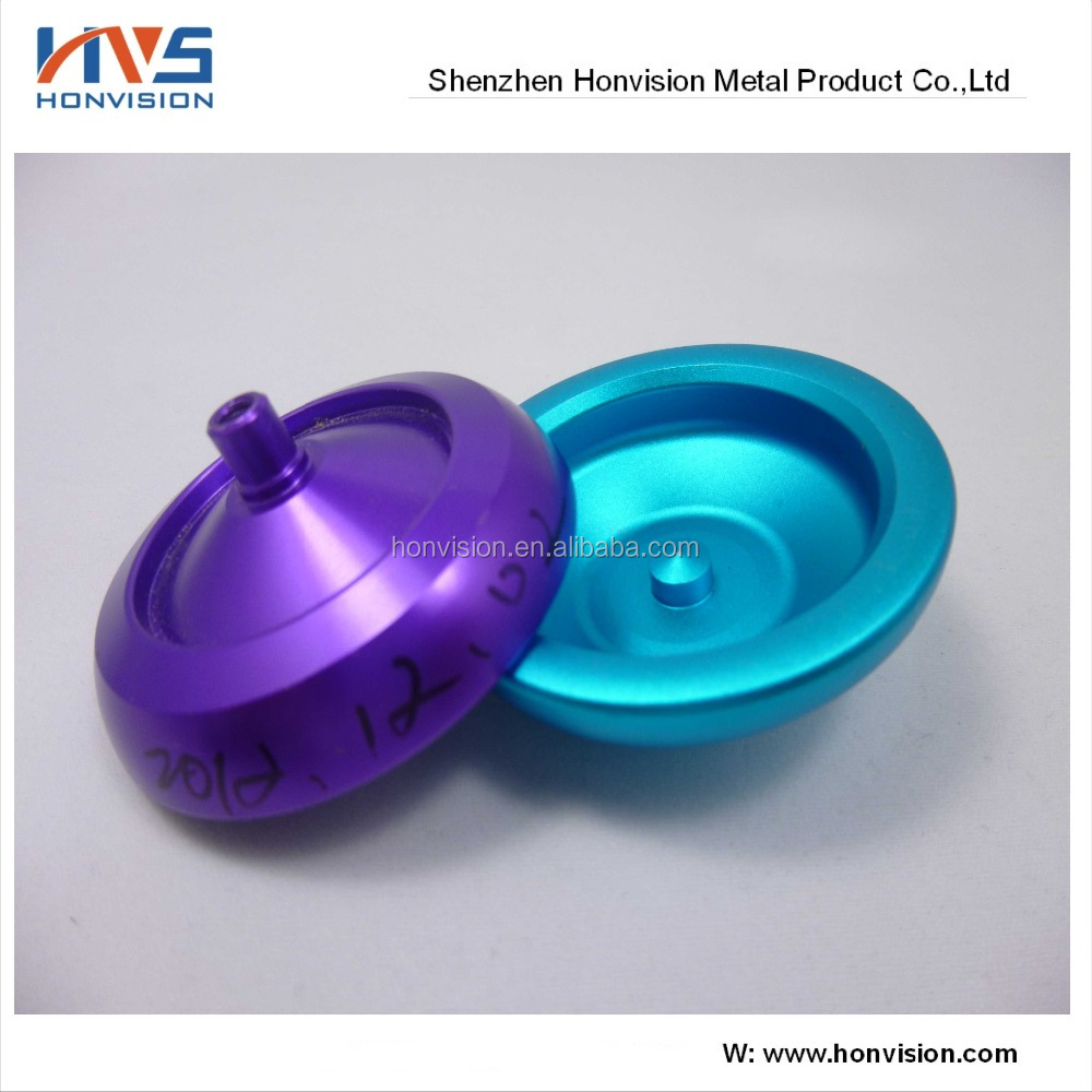 CNC machining metal aluminum 6061-T6 Yoyo