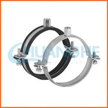China manufacturer two holes stainless steel pipe clamp
