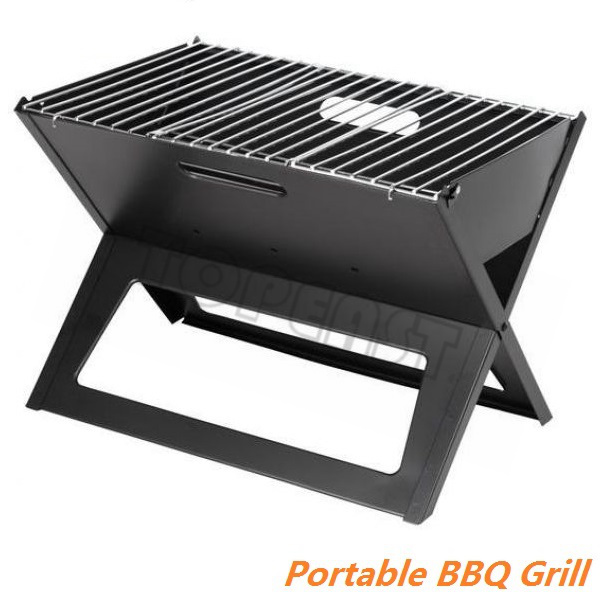 Mini Grill Picnic Camping Travel Outdoor Stainless Steel Folding BBQ
