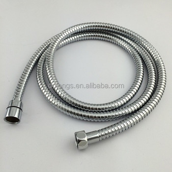 doflex stainless steel flexible extension sink hose with brass fittings 70 inches
