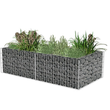 1m x1m x 0.5m with CE mark heavy duty zinc coated hot dipped galvanized Decoration Rock Basket welded Gabions