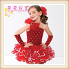 Factory direct wholesale Girls Latin dance dress for baby girls performance