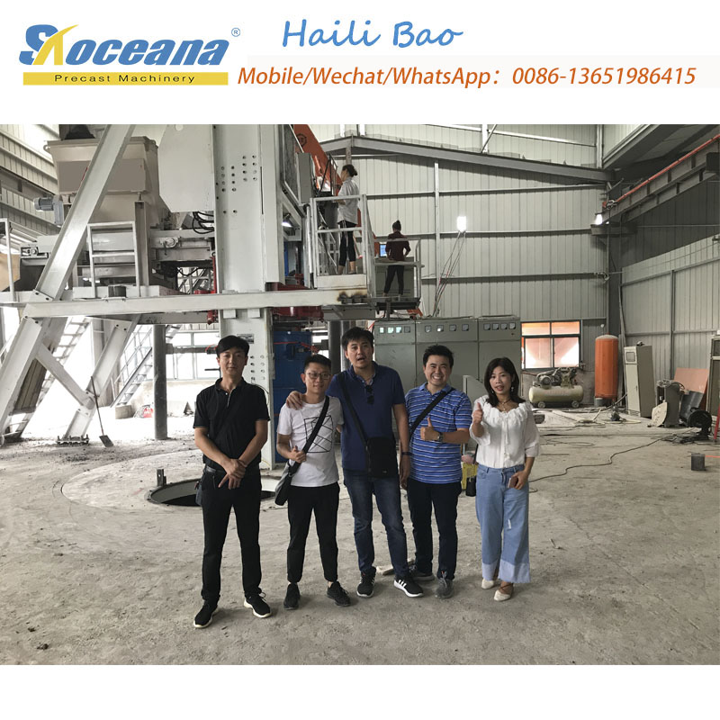 Radial Press Concrete pipe making machine