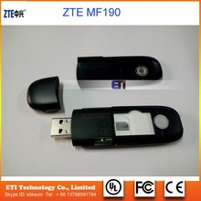 Unlock MF190, Unlock ZTE MF190 usb modem 3g dongle low price for Android OS
