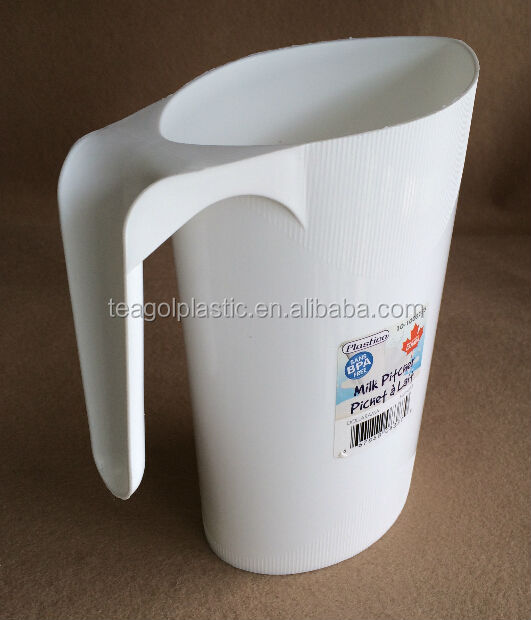 Plastic milk cups frothing pitcher with handle 1.3L TG20540