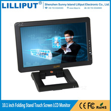 Folding LCD Monitor Stand 10.1 inch Desktop Touchscreen HDMI Displays