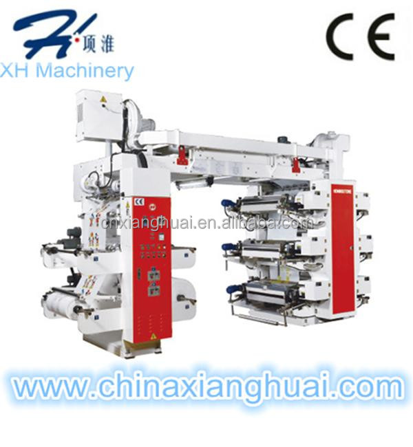 Multifunction multicolor Flexographic Printer with flexo plate Making Machine