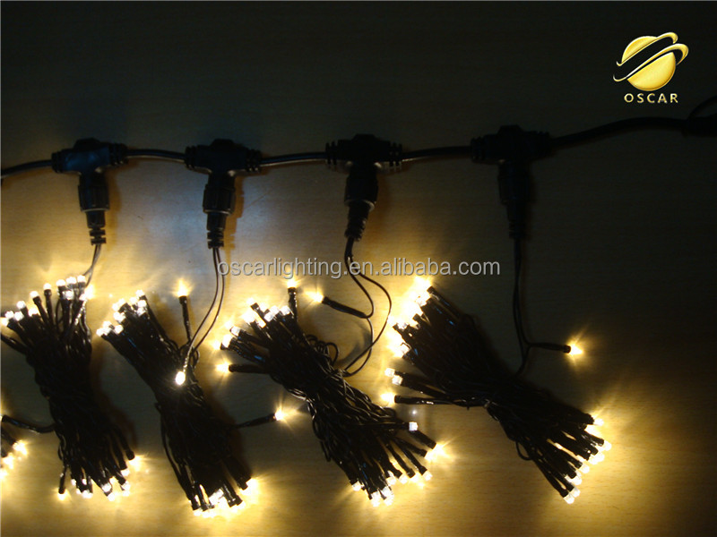 high quality holiday IP65 LED curtain light