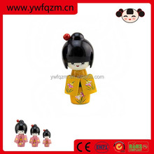 pure handcraft red custom polymer clay doll made in China for decoration or gifts