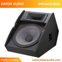 PWB115M05 professional wooden speaker box professional equipments for DJ