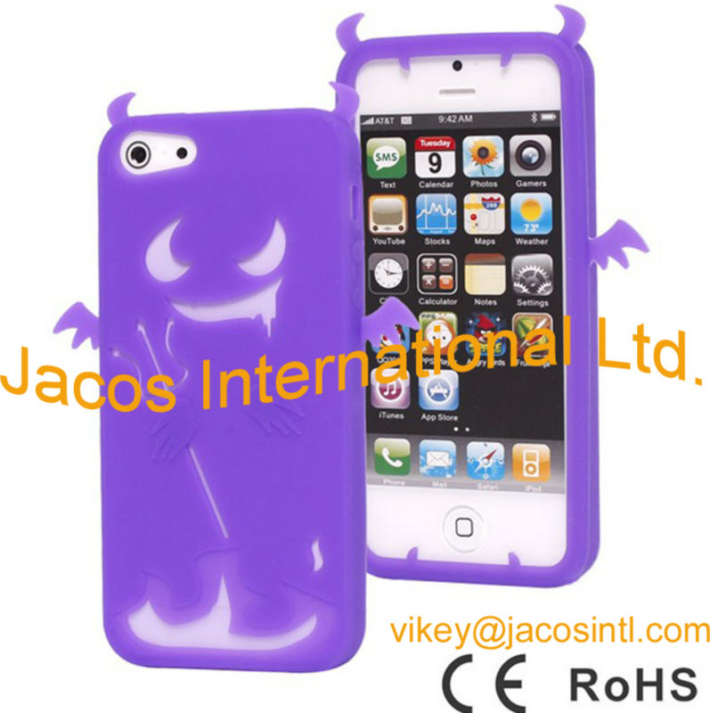 Soft silicon case for Iphone5