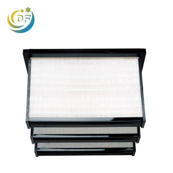 High quality design rigid hepa v bank air filter on hot selling