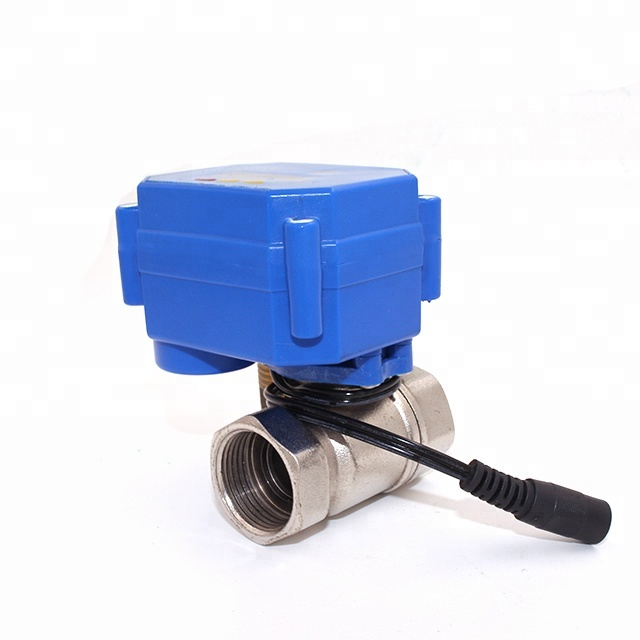 CWX-15Q electric control water ball valve with timer control for timing flower watering,automatic open and close