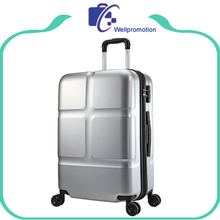 ABS+PC material sky travel light trolley luggage with TSA lock