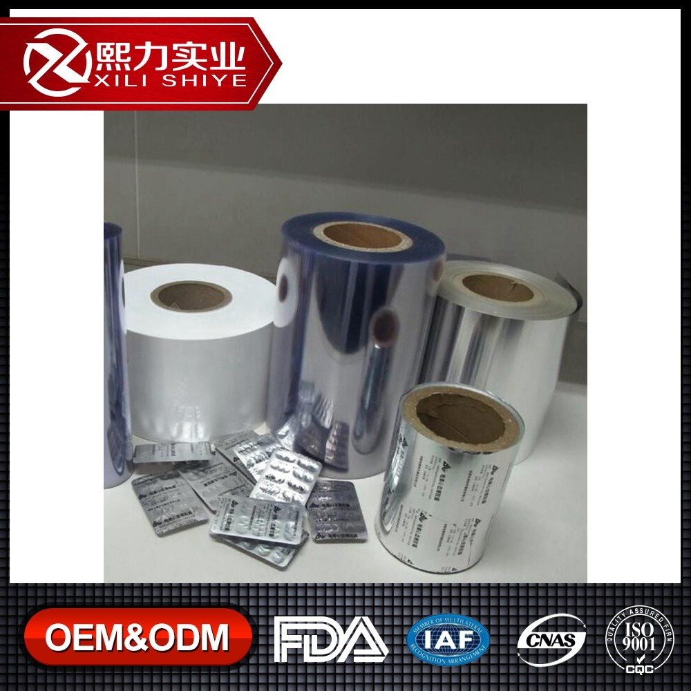 Medicine Packing Aluminium foil Pharmaceutical aluminium Blister Foil Used to Pack Tabletapsules and Pills into the Blisters