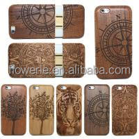 New iIn 2014 Mobile Phone Wood Case for iphone 6 Wood Cover Case Wood Phone Accessories