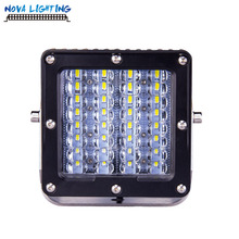 Off Road Car Used Square 64W 6 INCH Offroad Waterproof LED Driving Light