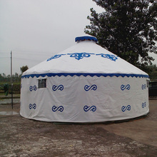 Triple layers mongolian yurt tent for sale