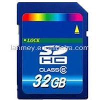 Factory OEM full storage memory card 1GB-32GB SD Card SDHC