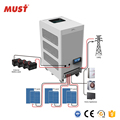 Three phase inverter price PH3000 three-phase On Grid/Off Grid hybrid Solar Inverter 9kw