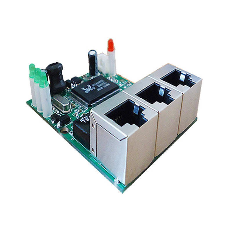 pcb board manufacturer oem 3 port ethernet hub