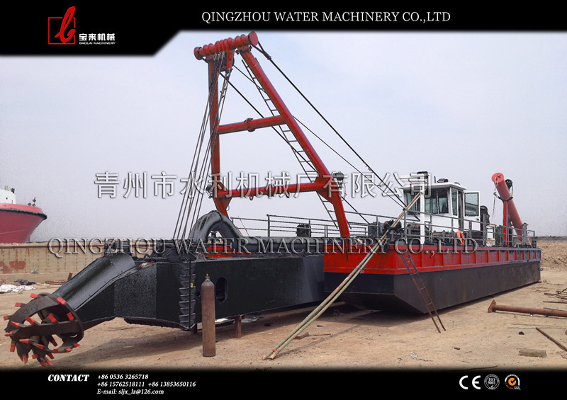 ISO certificated best quality small gold mining dredge for sale