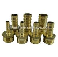 1/2 male pagoda connector, gas pipe joint, brass connector