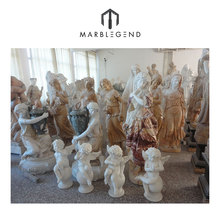 Chinese manufacturer natural stone carving marble figure statues
