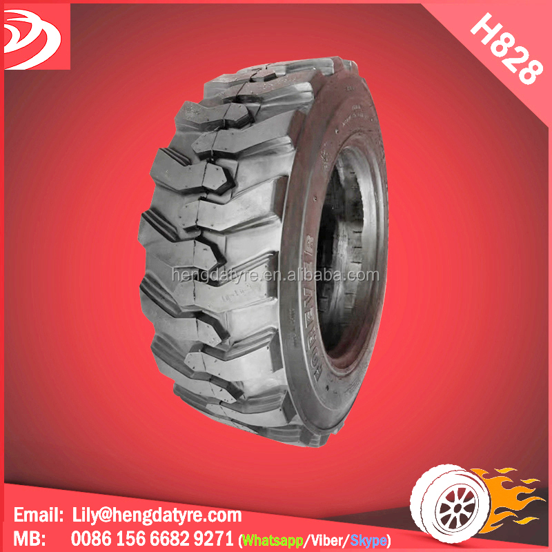 Skid steer wheel loader tyre 14x17.5 15x19.5 10x16.5 12x16.5