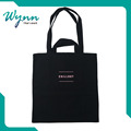 Soft-loop Customized Wholesale cotton canvas tote bag