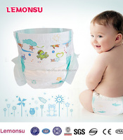 disposable SLEEPY baby diaper PE Backsheet Soft-breathable top-sheet